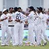 England lost six wickets in Trent Bridge