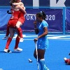 indian womens hockey team losses in bronze medal match