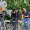 Chilling moments between Ram Charan and NTR in shot gap