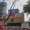 Police Use Containers As Walls At Red fort For Independence Day