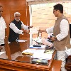 YSRCP MPs meets union law minister