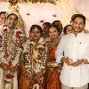 CM Jagan attends MLA Puppala Vasubabu daughter wedding in Bhimavaram