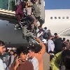 People Flocked Into Kabul Airport Tarmac American Soldiers Fired Shots Into Air