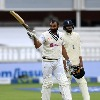 Team India tailender Mohammad Shami completes fifty