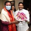 Kishan Reddy met CM Jagan at Tadepally camp office
