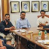 Virat Kohli meets Sourav Ganguly