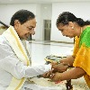 Rakshabandhan celebrations at CM KCR residence