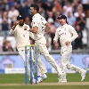 Team India lost four wickets in third test