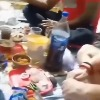 Video of gangsters partying inside a lockup