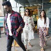Ram Charan roaming the city with his younger sister Photos viral