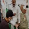 Injury to Bandi Sanjay during padayatra