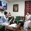 Bugna meets Union Finance Minister Nirmala in Delhi
