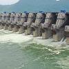 Flood water is increasing Polavaram dam