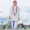 Biggest YSR statue unveiled in Chittoor district