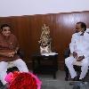 CM kcr meets central minister nitin gadkari