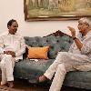 Telangana CM KCR met union minister Gajendra Singh Shekawat