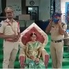 Seemantham for a lady constable in Gurajala police station