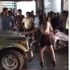Drunk woman creates ruckus on road in Gwalior