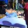 Sai Dharam Tej speaks one word in hospital