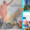 Kolkata Flyover In Yogi Adityanath Development Ad Trinamool In Splits