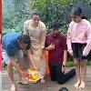 Vinayaka nimajjanam in Mahesh babu family video goes viral