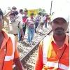 Railway gangmen talks to media who identified Raju dead body on railway track