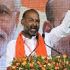 Will bury the KCR history says Bandi Sanjay