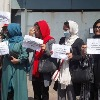 Women workers in Kabul Municipality have been told to stay home