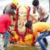 Ganesh Immersion Continue in Hyderabad Tank Bund