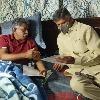 Chandrababu went to Manda Krishna Madiga