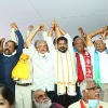 Sitaram Yechury and other leader fires on modi and kcr