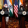 Opening Remarks by the PM at his meeting with Vice President of USA, Kamala Harris