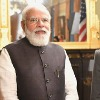 Indian prime minister Narendra modi met with kamala harris