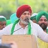 Rakesh Tikait Tweets Biden Over Farm Laws