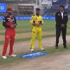 Chennai won the toss against RCB