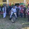 Kishan Reddy bike ride in Arunachal Pradesh