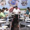 రెవెన్యూ, జీహెచ్ఎంసీ, హౌసింగ్ శాఖల అధికారులతో మంత్రి తలసాని సమీక్ష