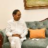 CM KCR held meeting with union minister Gajendra Singh Shekawat
