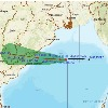 Red alert Issued to Andhrapradesh and Odisha because of Gulap cyclone