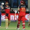 RCB set huge target to Mumbai Indians