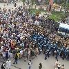 Hundreds of farmers block highways in Punjab, Haryana