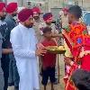 Punjab CM surprised new couple