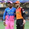SRH plays against Rajasthan Royals
