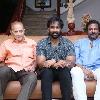 Manchu Vishnu and his panel members met Superstar Krishna at his residence