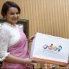 Famous Actress Kangana Ranawat met yogiadityanath
