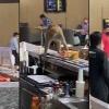 monkey in indiragandhi international airport
