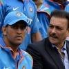 Ravi Shastri praised MS Dhoni