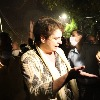 Police taken Priyanka Gandhi into custody