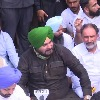 Sidhu Cong MLAs detained in Chandigarh while protesting against UP violence