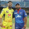 Table toppers CSK and DC plays in Dubai